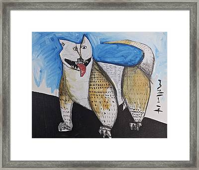 Animalia  Canis No. 10  Framed Print by Mark M  Mellon