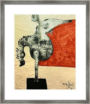 Animalia  Equos No 5 Framed Print by Mark M  Mellon