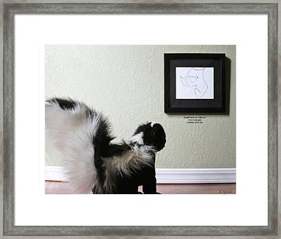 Animal's Art Museum 02 Framed Print by Tony Grider