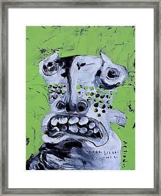 Animus No 10 Framed Print by Mark M  Mellon