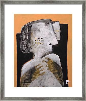 Animus No 18 Framed Print by Mark M  Mellon