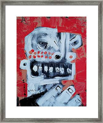Animus No 9 Framed Print by Mark M  Mellon