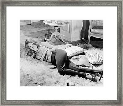 Ann-margret In The Swinger  Framed Print by Silver Screen