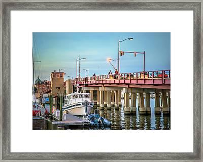 Annapolis 6th St Bridge Framed Print by Brian Wallace