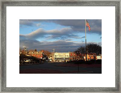 Annapolis Md - 01131 Framed Print by DC Photographer