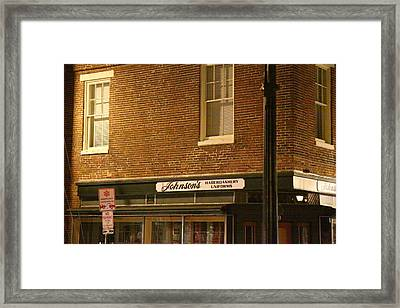 Annapolis Md - 121275 Framed Print by DC Photographer