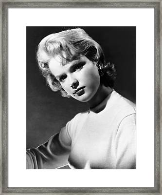 Anne Francis, Ca. Mid-1950s Framed Print by Everett