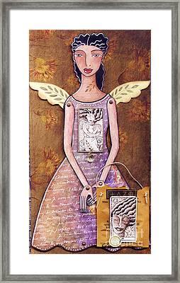 Annie Framed Print by Elaine Jackson