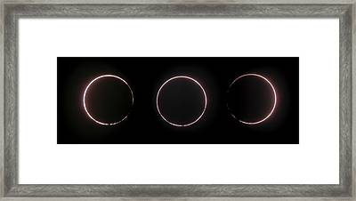 Annular Solar Eclipse Framed Print by Juan Carlos Casado (starryearth.com)