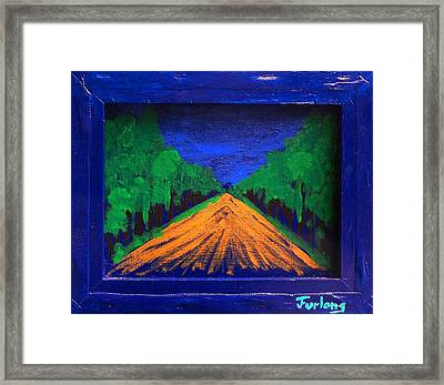 Anoher Yellow Brick Road Framed Print by Jim  Furlong