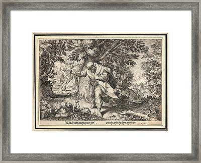 Anonymous After Hendrick Goltzius Dutch Framed Print by Litz Collection