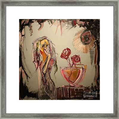 Anonymous Framed Print by Michael Kulick