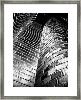 Another Brick In The Wall Framed Print by Barbara Drake