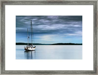 Another Day Another Storm Framed Print by Ryan Manuel