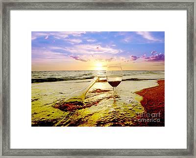 Another Day In Paradise  Framed Print by Jon Neidert