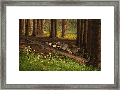 Another Days Work Framed Print by Jack Zulli