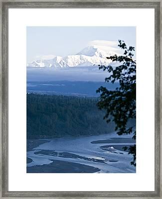 Another Denali View  Framed Print by Tara Lynn