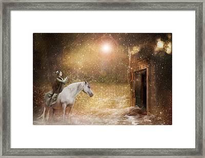 Another Door Opens Framed Print by Pamela Hagedoorn