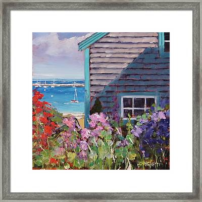 Another P Town Framed Print by Laura Lee Zanghetti