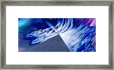Another Pathway Through The Cosmos Framed Print by Kellice Swaggerty