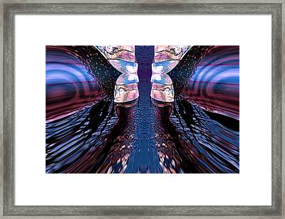 Another Perspective Framed Print by Angelica G-N Zizela