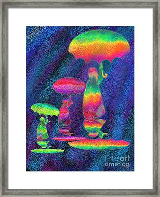 Another Rainy Day 2 Framed Print by Nick Gustafson