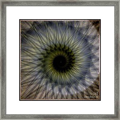 Another Spiral  Framed Print by Elizabeth McTaggart