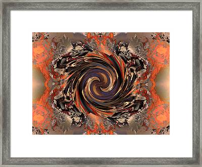 Another Swirl Framed Print by Claude McCoy