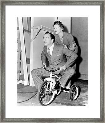 Another Thin Man  Framed Print by Silver Screen