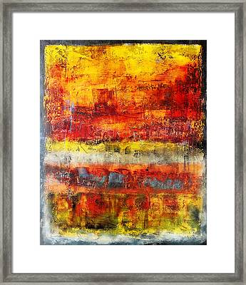 Another Time Framed Print by Katie Black