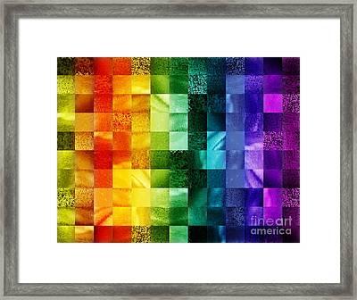 Another Kind Of Rainbow Framed Print by Irina Sztukowski