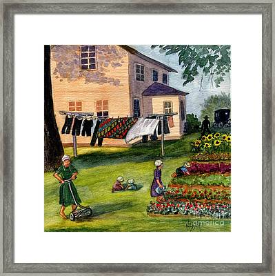 Another Way Of Life II Framed Print by Marilyn Smith