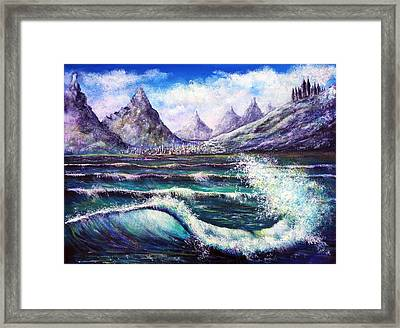 Another World Framed Print by Ann Marie Bone