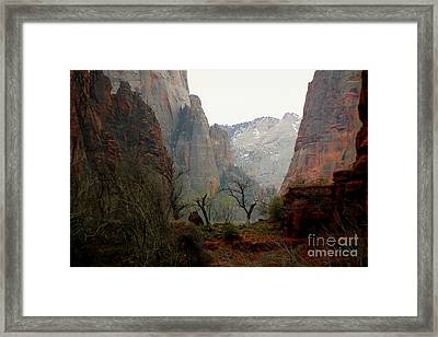 Another World Awaits Those That Venture. Framed Print by Scott Cameron