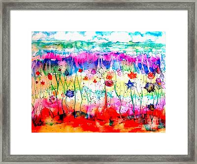 Another World Framed Print by Hazel Holland