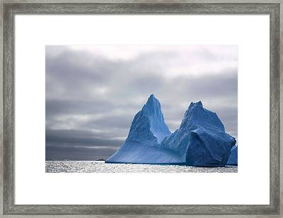 Antarctic Iceberg 2 Framed Print by FireFlux Studios