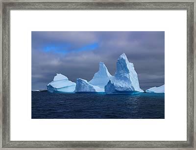 Antarctic Iceberg 3 Framed Print by FireFlux Studios