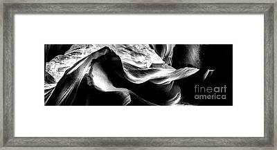 Antelope Canyon Rock Wave 2 Framed Print by Az Jackson