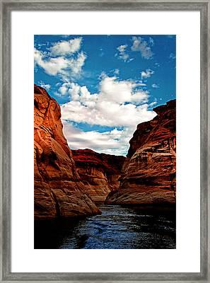 Antelope Canyon Framed Print by Tom Prendergast