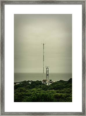 Antenna Framed Print by Marco Oliveira