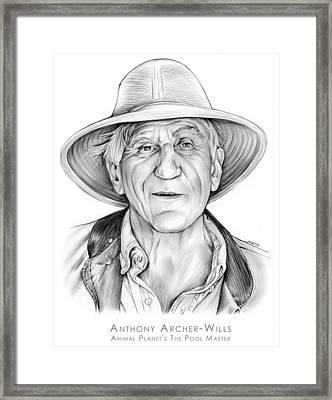 Anthony Archer-wills Framed Print by Greg Joens