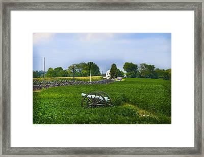 Antietam Battlefield Framed Print by Bill Cannon