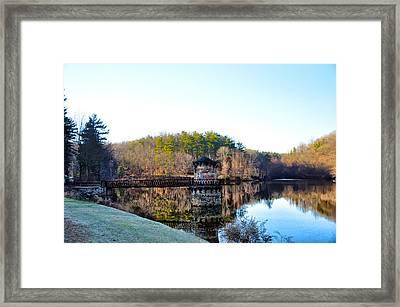 Antietam Creek - Berks County Pa. Framed Print by Bill Cannon
