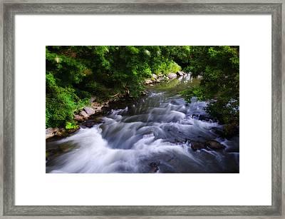Antietam Creek - Maryland Framed Print by Bill Cannon