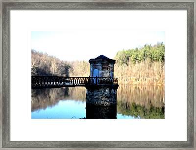 Antietam Creek Reading Pa Framed Print by Bill Cannon