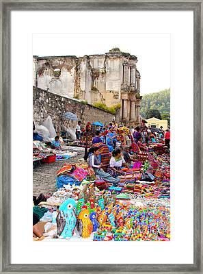 Antigua Guatemala Framed Print by Carey Chen