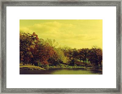 Antique Autumn Framed Print by Julia and David Bowman