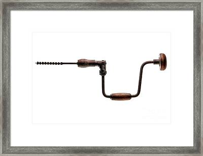 Antique Drill  Framed Print by Olivier Le Queinec