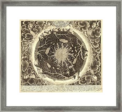 Antique Mystical Map Framed Print by Gary Grayson
