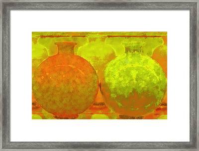 Antique Vases Framed Print by Ben and Raisa Gertsberg